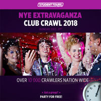 Manager for NYE Club Crawl Event - $90