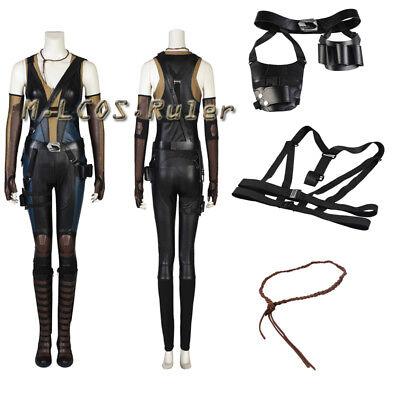 Deadpool 2 Cosplay Neena Thurman Domino Costume Halloween Outfit Custom Made