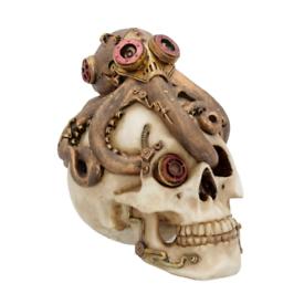 Steampunk skull octopus