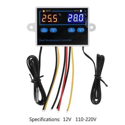 10a Dual Thermostat For Incubator Digital Cooling Heating Temperature Controller