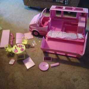 Barbie Magical MOTOR HOME Vehicle Playset 1990 VINTAGE Camper