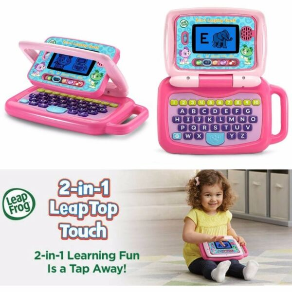 BNIB: LeapFrog 2-in-1 LeapTop Touch, Pink