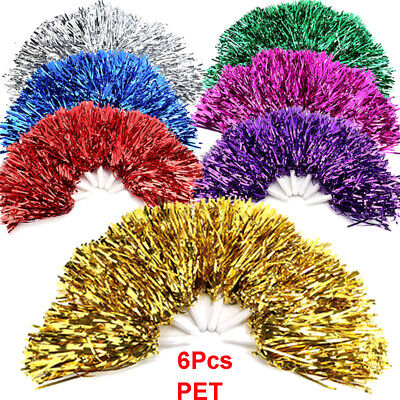Lightweight Cheerleading Pom Poms  Set Sports Fancy Party Dance Accessories - Pom Poms Cheerleading