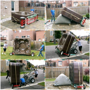 Cash paid for good hot tubs  15 years EXP moving them