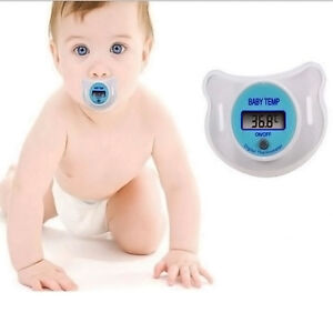 Digital Dummy Soother Pacifier Baby Toddler Child Oral Thermometer Mini Safe