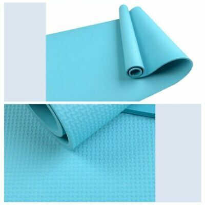 4mm Yoga Mat Non-Slip Pilates Pad Fitness Gym Exercise Sport Home Workout Campin 7