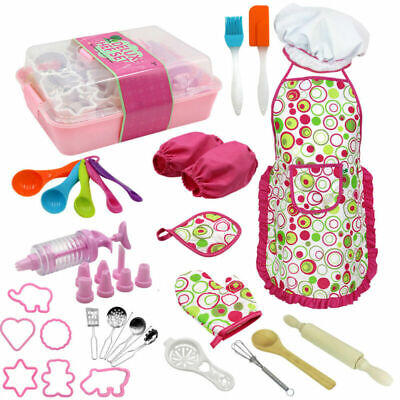Toys For Girls Baking Kitchen Role Play Pretend Kits 2 3 4 5 6 7 8 Year Age Old