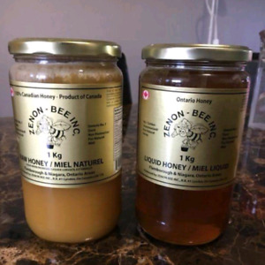 Local 100% Canadian Honey 1 kg