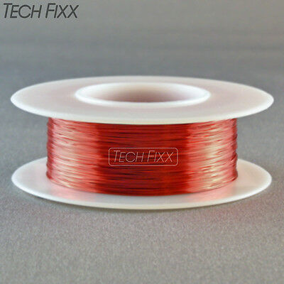 Magnet Wire 30 Gauge Awg Enameled Copper 315 Feet Coil Winding And Crafts Red