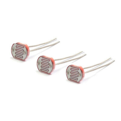 20pcs Photoresistor Ldr Cds 5mm Light-dependent Resistor Sensor Gl5516 5528 5537