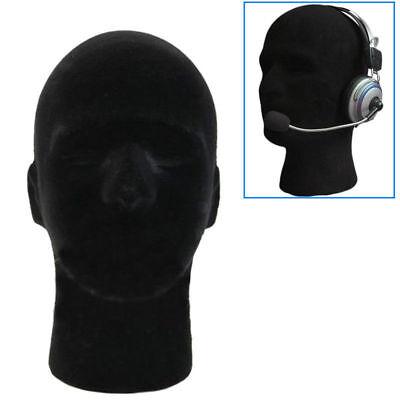 Male Mannequin Styrofoam Foam Head Model Wig Glasses Cap Hat Display Stand