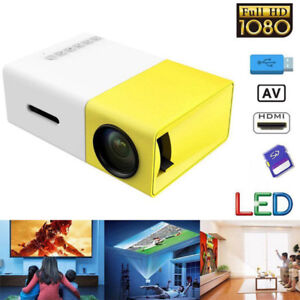 Mini HD Projecteur Projector USB HDMI LCD Home Theater
