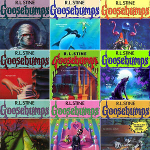 Original GOOSEBUMPS books.