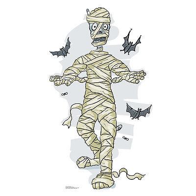 MUMMY AND BATS Cartoon CARDBOARD CUTOUT Standup Standee Kid's Halloween Prop](Halloween Mummy Cartoon)
