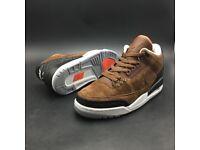 """Nike Air Jordan 3 JTH """"Brown"""