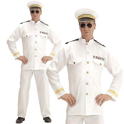 MARINE KAPITÄN Navy Captain Gr. M (50) Herren Kostüm Matrose Seemann  #0687
