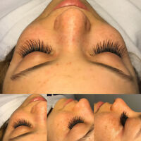 Eyelash Extensions $60.00 - Downtown Location