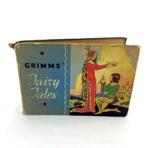 Grimms Fairy Tales Book Antique Vintage 1934 Mary Royt Whitman
