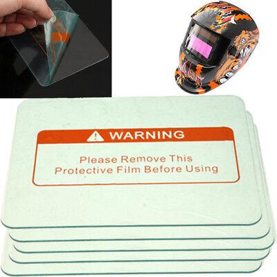 5pcs 4.5 X 3.5 Clear Safe Welding Cover Lens Splash Protect Welding Helmet