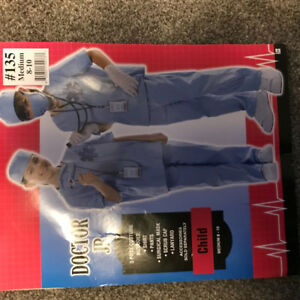 Doctor Jr. Costume- Size 8-10