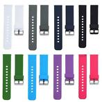 Soft Sports WatchBand Silicone 22mm Watch Band Strap for