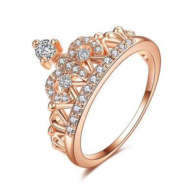 Anillos Sortijas 18K De Compromiso Matrimonio Boda Oro Plata Regalos Para Mujer