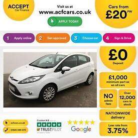 Ford Fiesta 1.4TDCi DPF Edge FINANCE OFFER - FROM £20 PER WEEK!