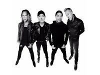 Metallica Concert on 24 October 2 VIP TIckets