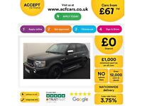 Land Rover Range Rover Sport 3.6TD V8 auto 2007MY HSE FROM £67 PER WEEK