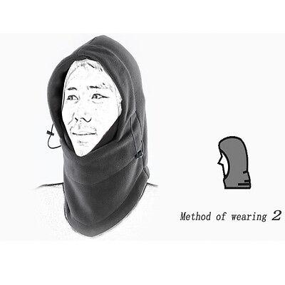 Black Warm thermal fleece winter Hiking Ski Bike Head Wrap Mask Helmet Hat for sale  China