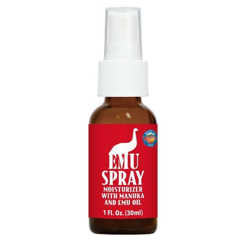 emu spray 1 oz moisturizer with manuka