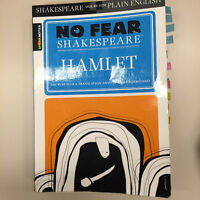University English textbook - No Fear Shakespeare