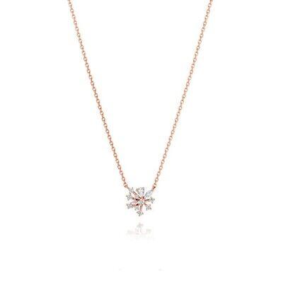 [STONE HENGE] Silver 925 Rose Color Necklace K1276 with Case K-beauty