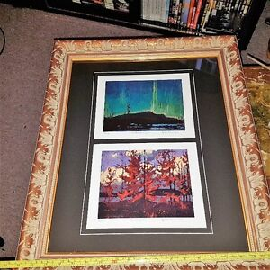 Framed Certified Group of Seven Double Print
