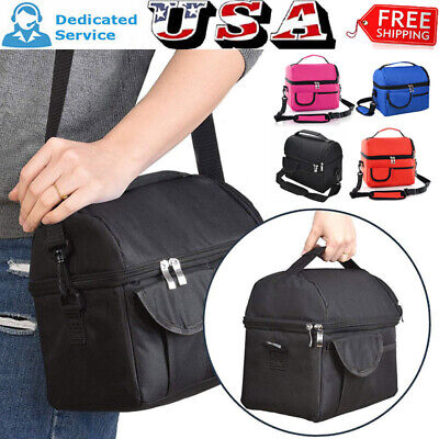 Insulated Lunch Bag For Women Men Kids Thermos Cooler Adults Tote Food Lunch (Coolers For Womens)