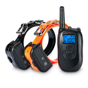 Remote training dog collar