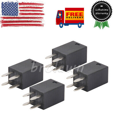 4pcs 303-1ah-c-r1-u01-12vdc For Song Chuan Ultra Micro Relays Spno 20a 12vdc Usa