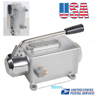 Good Oil Pump Manual Oil Lubricator New Hand Operate Handle Lubrication
