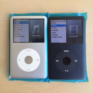 160GB iPod Classic 7th Generation (Black or Silver)
