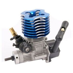 HSP 02060 P VX 18 RC 1:10 Engine 2.74cc Nitro Car Buggy EG630 Pull Starter Blue