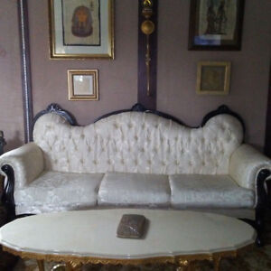 french provincial style sofas..DEAL!!! NOW ONLY 300 for pair