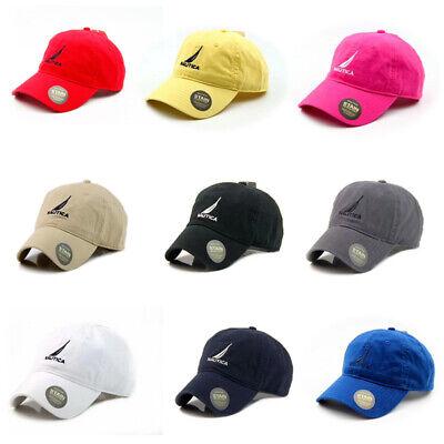 Hot Nautica Hat Outdoor Sport Baseball Cap Tennis Driving Unisex Golf Adjustable