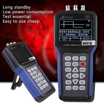 Pro Jds2023 Oscilloscope Handheld 200msas Multimeter Scope Meter Tft Lcd