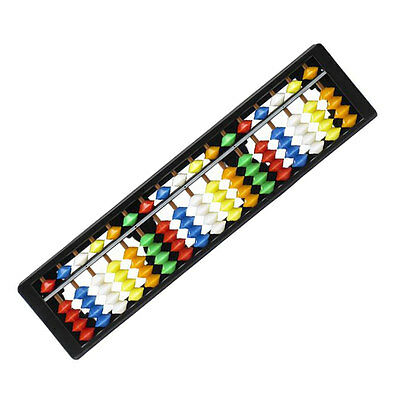Korean Abacus 17 Digits Mathematic Calculator Color Children brain training