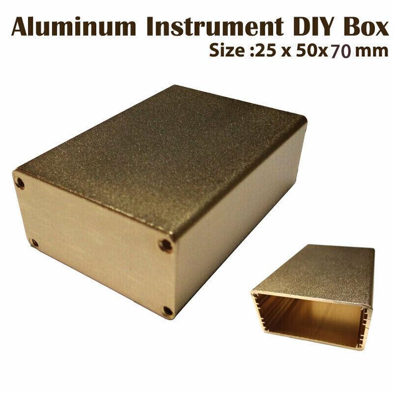Aluminum Instrument Enclosure Electronic Project Case Junction Box Waterproof
