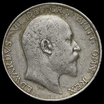 1905 Edward VII Silver Shilling, Very Rare (R2)