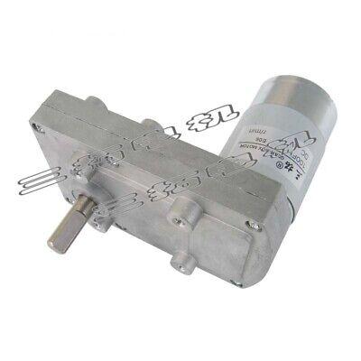 1pcs 100fh Dc12v24v Gear Speed Reducer Gearbox Motor 2.2-100rpm For Diy Robot