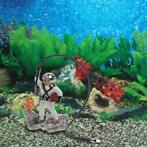 Aquarium Aquarium Zee Schat Diver Hunter Air Actie Ornament