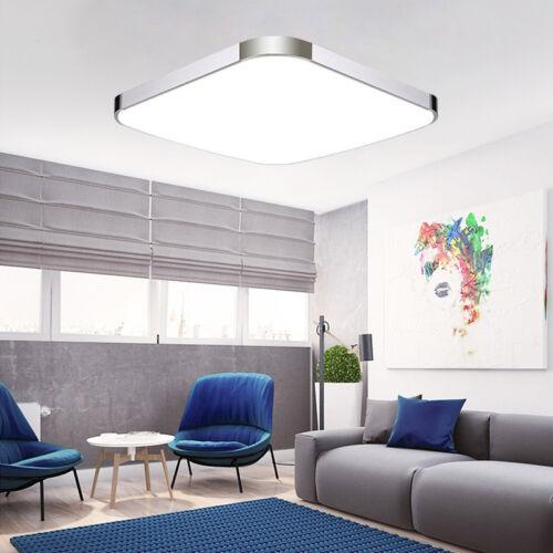 LED Panel Deckenleuchte Badleuchte Deckenlampe Dimmbar Flurleuchte Wohnzimmer