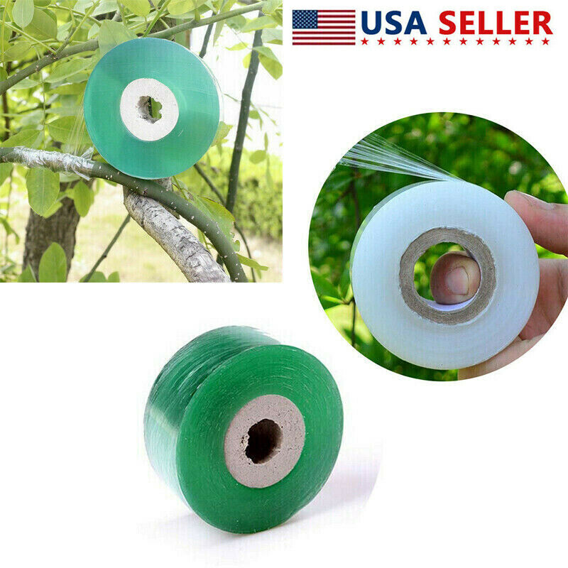 Clear Grafting Tape Stretchable Soft For Garden Seedling Pruning Tool 100m/120m
